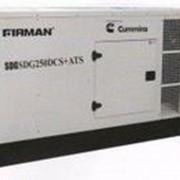 Дизельная электростанция firman sdg250dcs - дизельный генератор cummins фото
