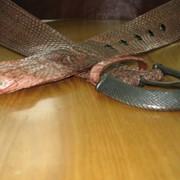 Пояс кожаный женский, изготовление изделий из кожи на заказ фото