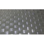 Лист алюминиевый рифленый 2 мм АМЦН2(Н), АД0Н, А5М фото