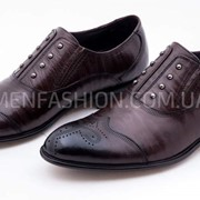 Туфли мужские VITTO ROSSI коричневого цвета 058 фото