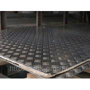 Лист алюминиевый рифленый 1 мм АМЦН2(Н), АД0Н, А5М фото