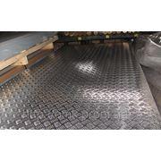 Лист алюминиевый рифленый 4 мм АМЦН2(Н), АД0Н, А5М фото