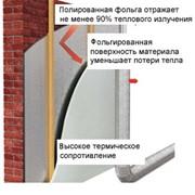 Теплоизоляция в рулонах с фольгированным покрытием фото