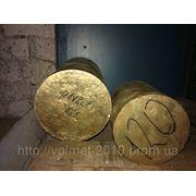 Круг бронзовый 170 ОЦС фото
