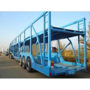 Автовоз WANSHIDA 3х-осный фото