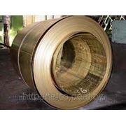Лента бронзовая БрОФ =0,25х33 фото