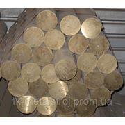 Пруток бронзовый БрАЖ9-4 ф30 фото