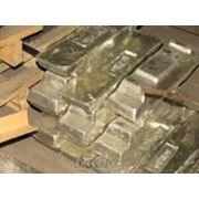 Чушки баббитовые, алюминий, цинковые, свинцовые, латунные. фото