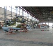 Работы дополнительные на вертолетах Ми-24 (Ми-35) фото