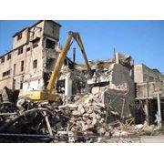 Демонтаж зданий в Молдове фото