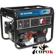 Трехфазный Бензиновый Генератор AGT 8203 MSB фото