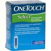 Тест-полоски Уан Тач Селект (One Touch Select) №25, LifeScan (США)