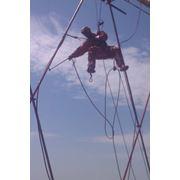Промышленный альпинист 5-ый разряд фото