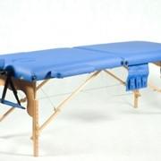 Деревянный 2-х сегментный стол для массажа фото
