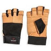 Перчатки для пауэрлифтинга VAMP 530 BR, L фото