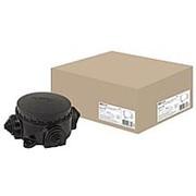 Коробка ОП 3-х рожка карболитовая с/ф КЭМ 1-10-3 72мм фото