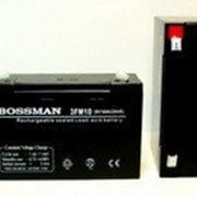 Аккумулятор 6 В 10 Ач свинцово-кислотный герметичный Bossman 6V 3FM10 - LA6100 фото