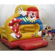 Надувной батут «Клоун» фото