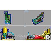 Батутный комплекс «Кубок чемпионов». фото
