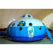 Надувной батут «НЛО» фото