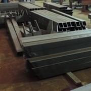 Заготовка элементов металлоконструкций фото