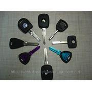 Изготовление ключей для всех марок автомобилей фото