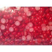 Полужемчуг красный 2мм (100шт) фото