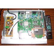 Ремонт прошивка настройка ТВ DVD спутниковых ресиверов домашних кинотеатров сабвуферов фото