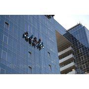 Высотная мойка окон фасадов и др. фото
