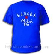 """Футболка с рисунком """"Havana Cuba"""" фото"""