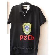 Печатаем на футболках. фото