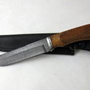 "Нож дамаск ""Луч"" (р.р.) фото"