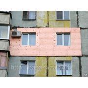 Утепление квартир и фасадов зданий любых плоскостей пенопластом и другими материялами фото