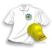 Нанесение изображений +на ткань, пленочная накатка на футболки, нанесение логотипов, брендирование одежды фото