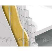 Теплогидроизоляция фундаментов, стен напылением пенополиуретана (ППУ) фото