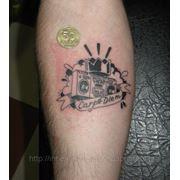 Музыкальные татуировки в Днепропетровске фото