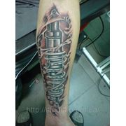 Татуировка биомеханика. Наши работы фото