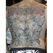 Татуировка на спине Харьков фото