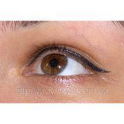 Татуаж глаз (татуаж век), татуаж межресничного пространства фото