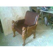Мебель из массива с резьбой по дереву