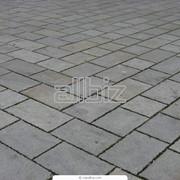 Брусчатка тротуарная фото