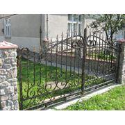 Изготовление ворот, заборов, лестниц из металла фото