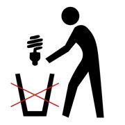 Утилизация люминесцентных и энергосберегающих ламп фото