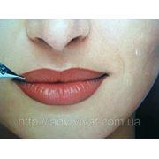 Контурный татуаж губ Киев фото