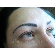 Волосковый татуаж бровей фото