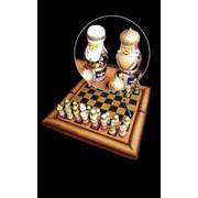 Шахматы, в национальном стиле Казахстана фото