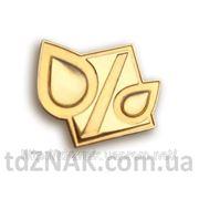 Значок металлический с логотипом купить фото