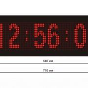 Электронное табло Температура, время, дата фото