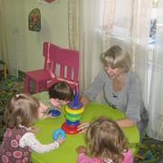 Развивающие занятия для детей 1 2 3 лет в Роще фото