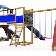Детская площадка из дерева SportBaby-12 фото